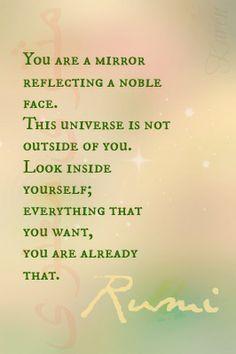 Rumi-YouAreMirror