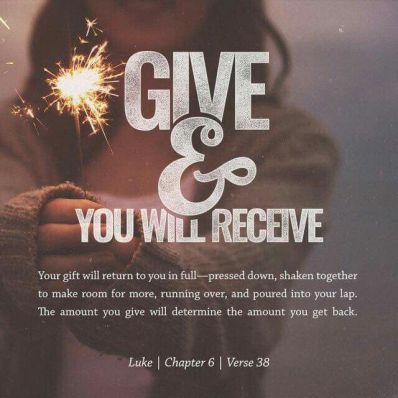 Luke 6-Give&Receive