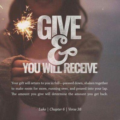 Luke 6-Give&Receive