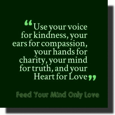 Mind Use Your for Truth&Love