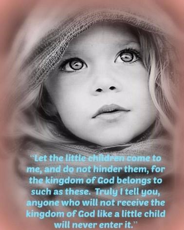 Child to Enter Kingdom