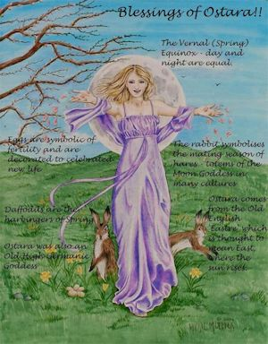 Festival of Oestre - Goddess of Fertility