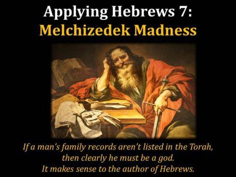 Melchizedek-No Family