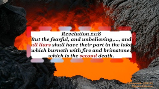Rev 21-8 All Liars Lake of Fire