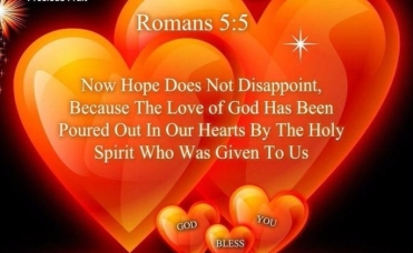 Romans 5-5 Hope Does Not Disappoint