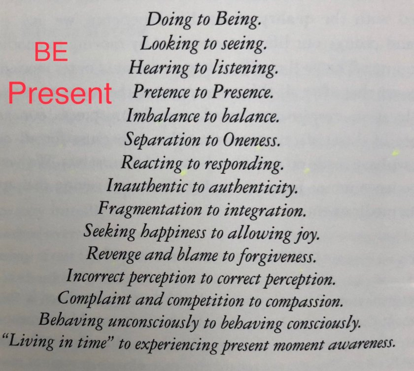 To BE Present Requires Presence