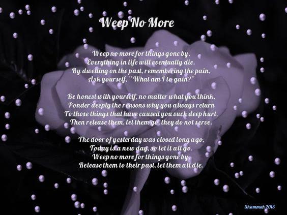 Weep No More - Shammah 2013