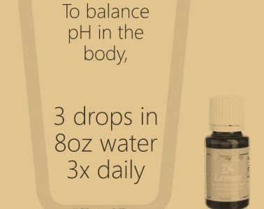 Lemon for pH Balance