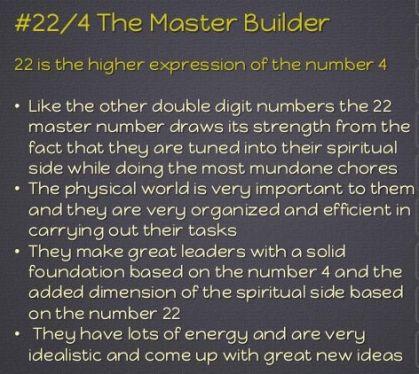 MasterNumber 22
