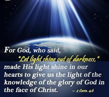 Light Let Shine - 2 Cor 4-6