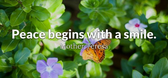 Peace - Mother Teresa