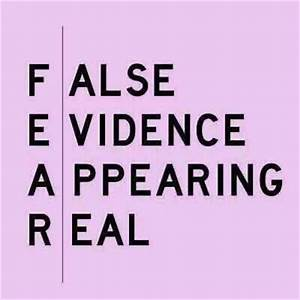 Fear - FalseEvidenceAppearingReal