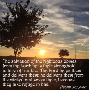 Psalm 37 v.39 to 40